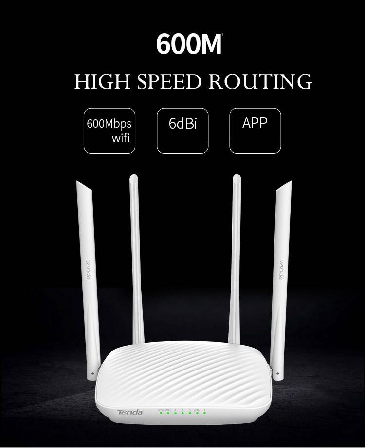 Tenda F9 600 Bộ định tuyến Router Wifi chuẩn N 600 Mbps tin hoc dai viet 3