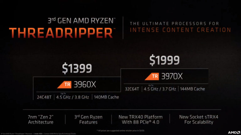 Threadripper-3960X-3970X-Giá và thông số