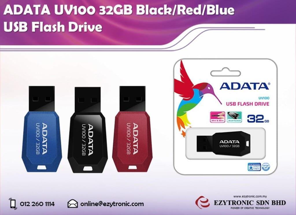USB Adata 32Gb UV100 2.0 tin hoc dai viet