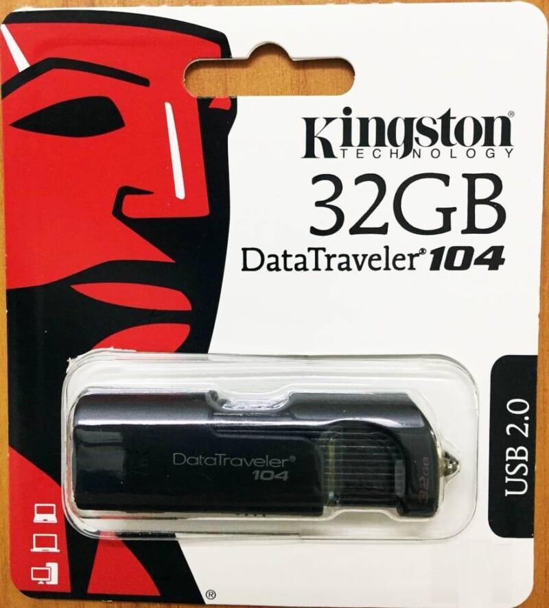 USB Kingston DT104 32GB cổng USB 2.0 tin hoc dai viet 1