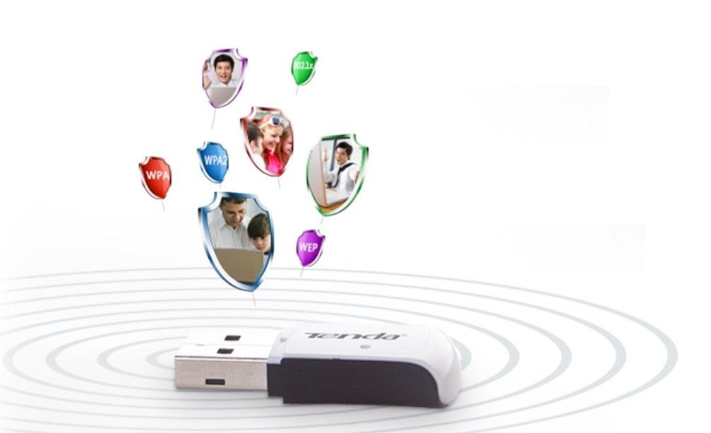 USB Wifi chuẩn N Tenda W311M tin học đại việt_1