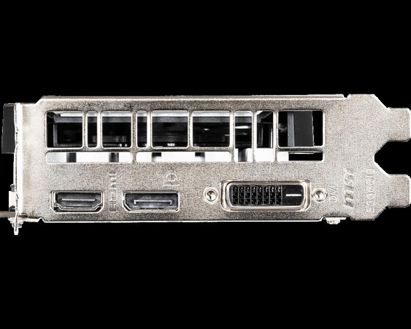 VGA MSI GeForce GTX 1650 Ventus XS OC 4GB GDDR5 tin hoc dai viet c