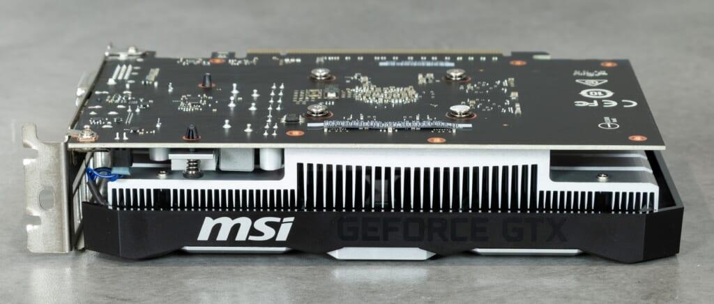VGA MSI GeForce GTX 1650 Ventus XS OC 4GB GDDR5 tin hoc dai viet d