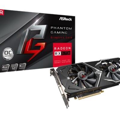 VGA Radeon RX570 4G D5 Asrock Phantom Gaming D tin hoc dai viet