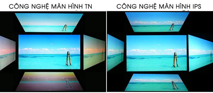 Công nghệ màn hình tấm nền TN là gì - góc nhìn tin hoc dai viet
