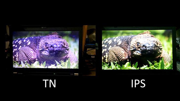Công nghệ màn hình tấm nền TN là gì - màu sắc tin hoc dai viet