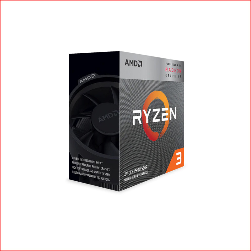 CPU AMD Ryzen 3 3300X socket AM4 4C8T3.8GHz up to 4.3GHzPCIe 4