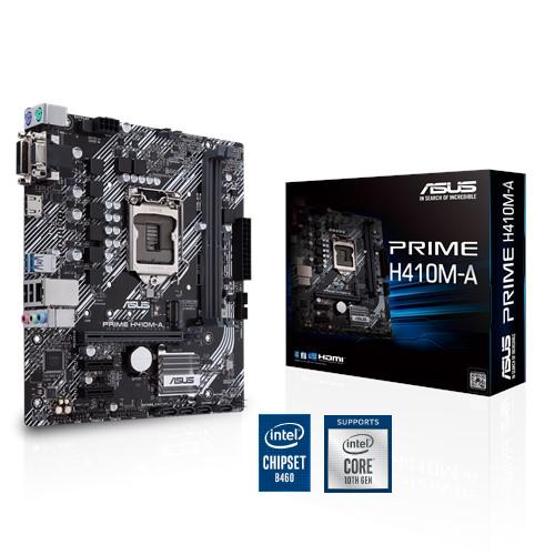 Main ASUS Prime H410M A Socket LGA 1200 for Intel Comet Lake