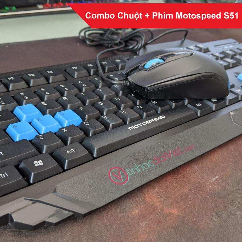 Combo Bàn Phím Chuột Motospeed S51 3