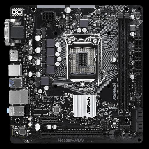 Main Asrock H410M HDV Socket 1200 cho Intel Gen 10 gia re 2