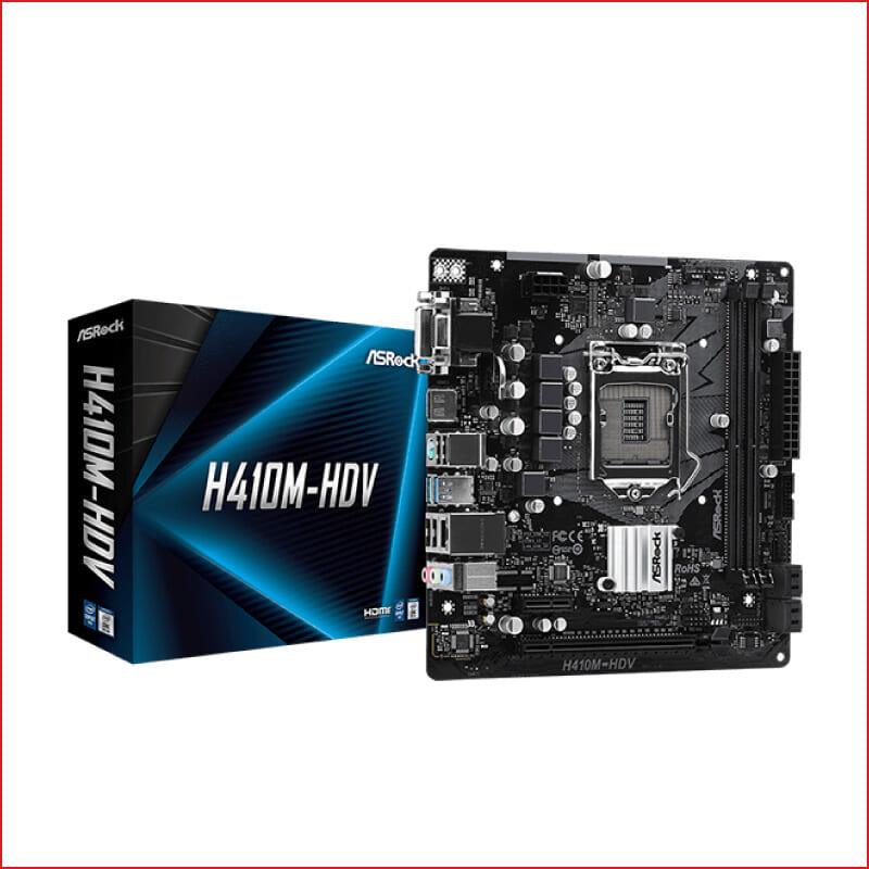 Main Asrock H410M HDV Socket 1200 cho Intel Gen 10 gia re