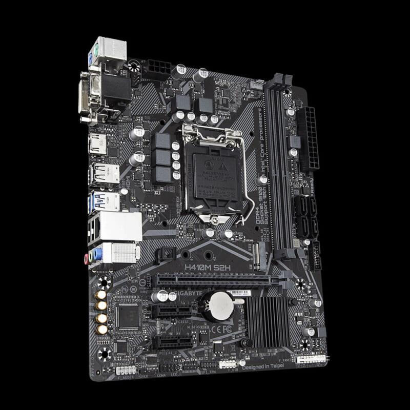 Main Gigabyte H410M S2H LGA 1200 cho Intel Gen 10 Tin học Đại Việt 1