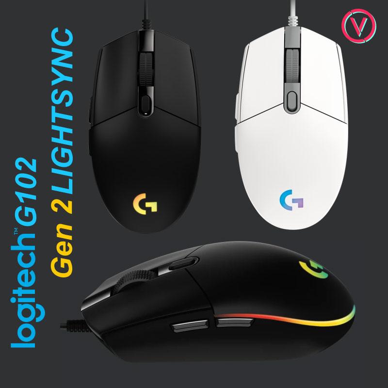 Chuột Gaming Logitech G102 Gen 2 LIGHTSYNC 5