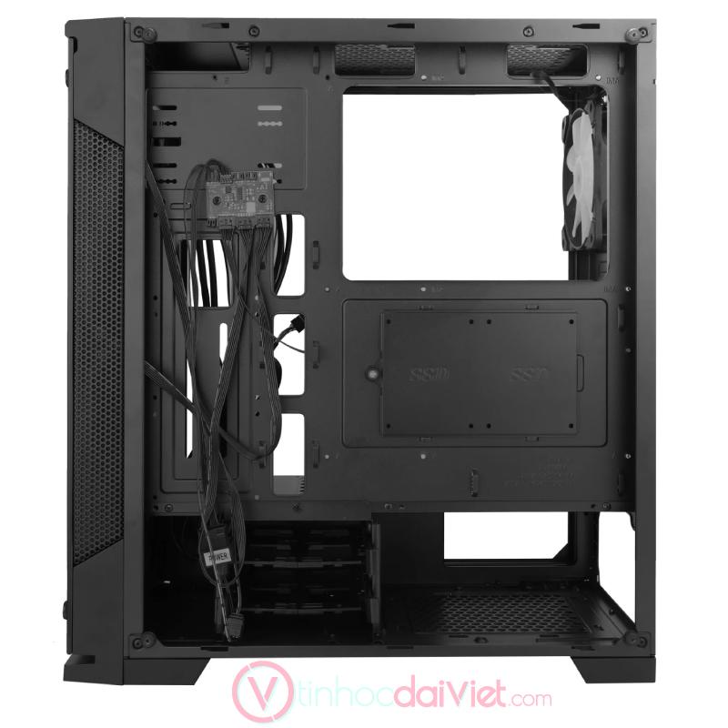 Case Thùng Máy Sama Crystal Mid Tower 3 Fan RGB VGA 383mm CPU 162mm 1