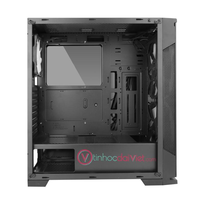 Case Thùng Máy Sama Crystal Mid Tower 3 Fan RGB VGA 383mm CPU 162mm 2