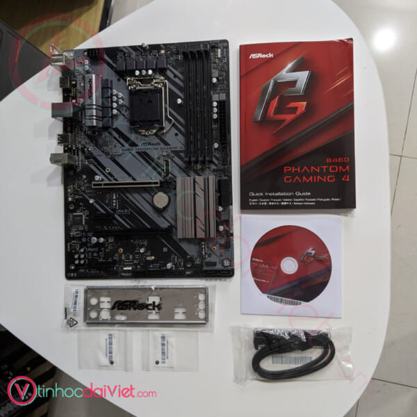 Main Asrock B460 PHANTOM GAMING 4 2