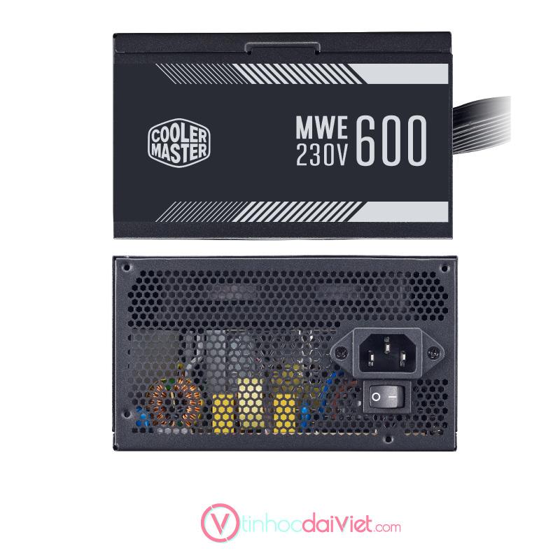 PSU Nguon May Tinh Cooler Master MWE 600 White V2 1
