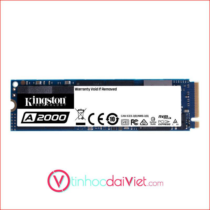 SSD KingSton A2000 500GB M.2 2280 NVMe PCIe Gen 3 x 4 1