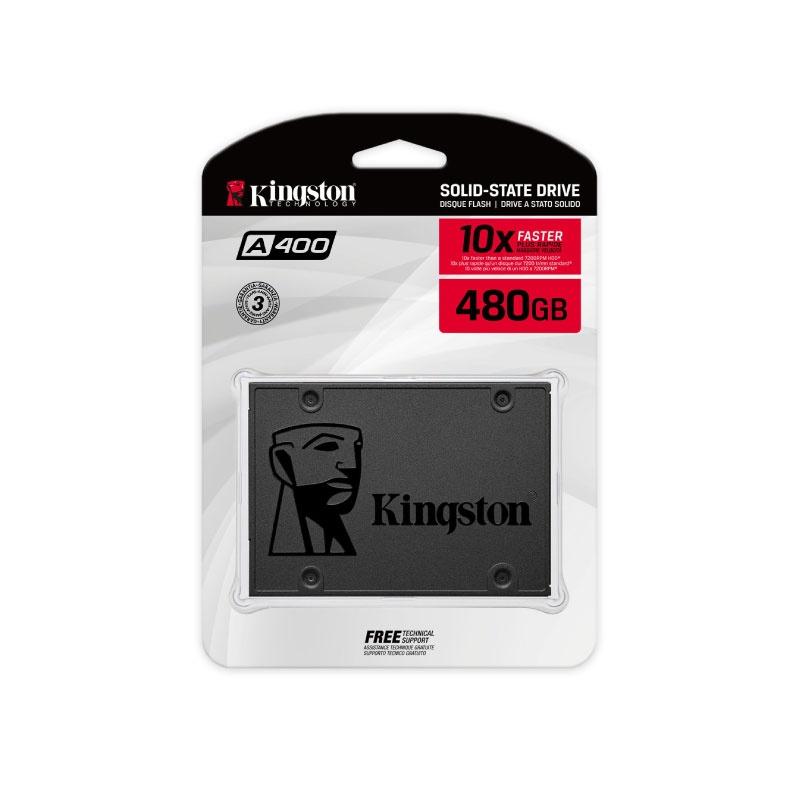SSD Kingston A400 480GB Sata 3
