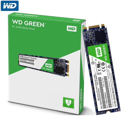 SSD Western Digital Green 480GB M2
