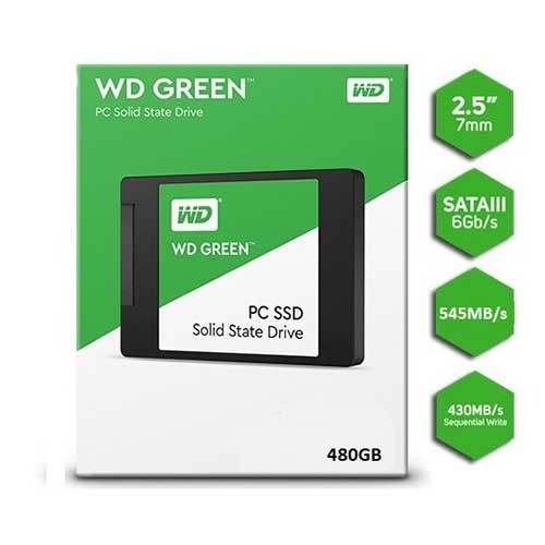 SSD Western Digital Green 480GB Sata