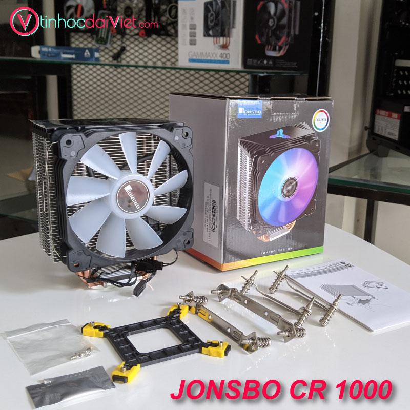 Tản nhiệt CPU Jonsbo CR1000 phụ kiện