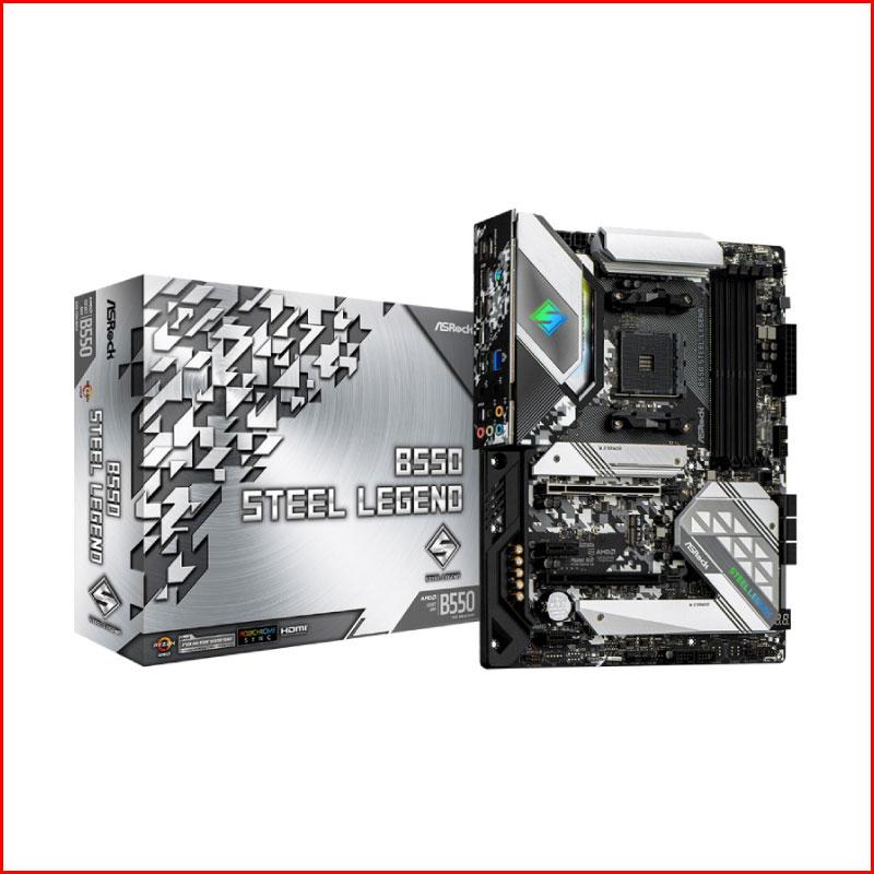 Mainboard Asrock B550 Steel Legend Socket AMD AM4