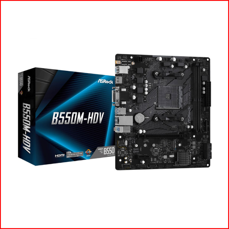 Mainboard Asrock B550M HDV Socket AMD AM4