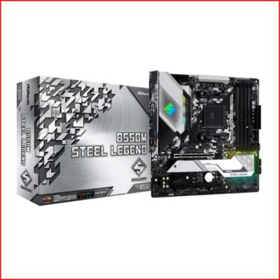 Mainboard Asrock B550M Steel Legend Socket AMD AM4
