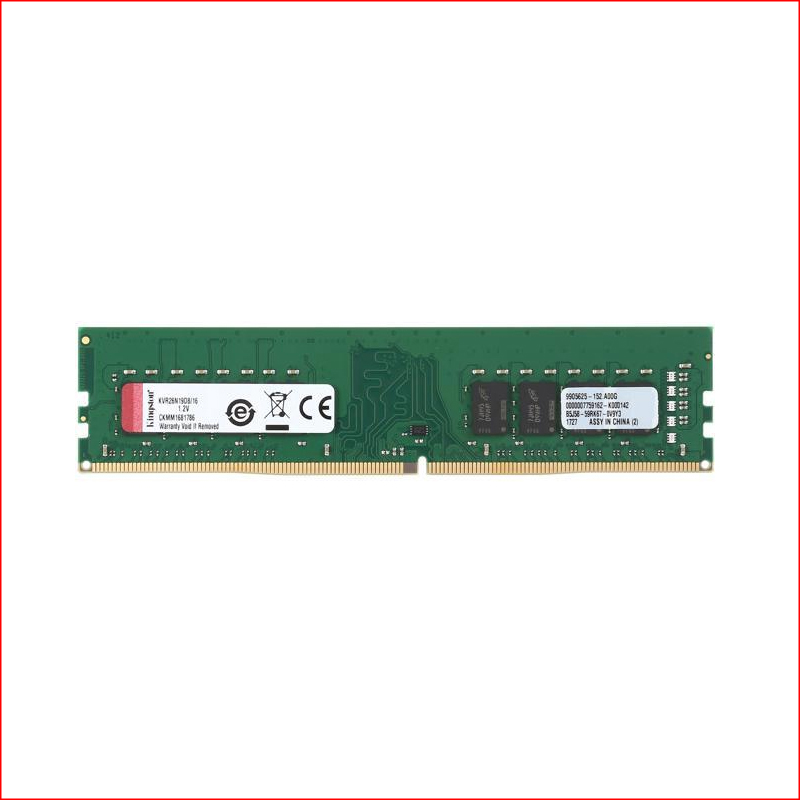 RAM DDR4 Kingston 16GB 2666 KVR26N19D816FE
