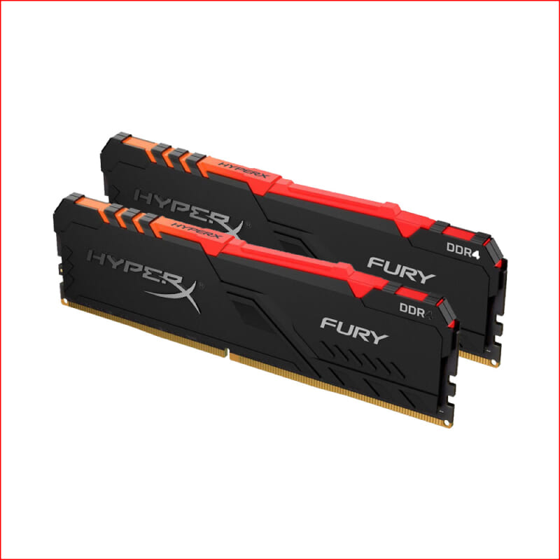 RAM DDR4 Kingston Hyper X Fury RGB Kit 2 x 8 GB 3200 MHz HX432C16FB3AK216