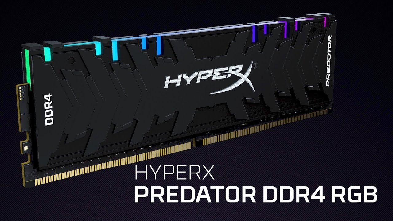 RAM DDR4 Kingston HyperX Predator RGB