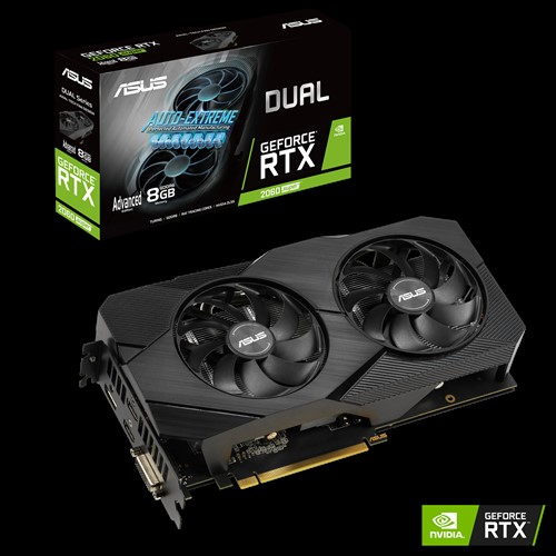 VGA Asus Dual GeForce RTX 2060 Super EVO V2 Advanced 8GB DUAL RTX2060S A8G EVO V2