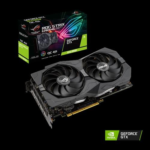 VGA Asus ROG Strix Gaming GeForce GTX 1650 Super OC 4GB ROG STRIX GTX1650S O4G GAMING