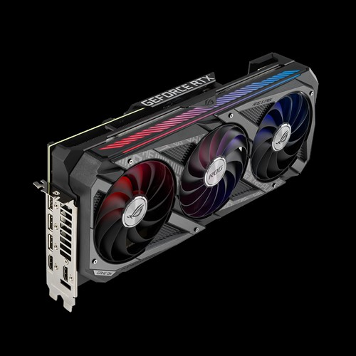 VGA Asus ROG Strix Gaming GeForce RTX 3080 10GB ROG STRIX RTX3080 10G GAMING 2