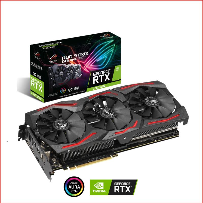 VGA Asus ROG Strix GeForce RTX 2060 Super EVO OC 8GB Gaming ROG STRIX RTX2060S O8G EVO GAMING