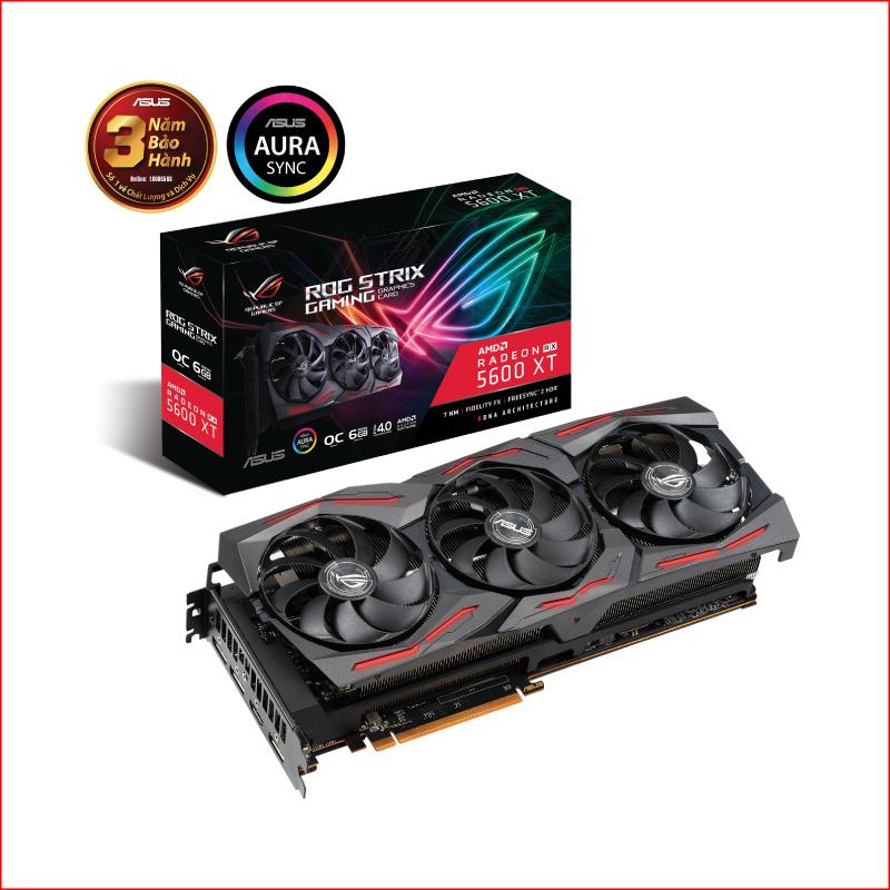 VGA Asus ROG Strix Radeon RX 5600 XT Gaming OC 6GB ROG STRIX RX5600XT O6G GAMING