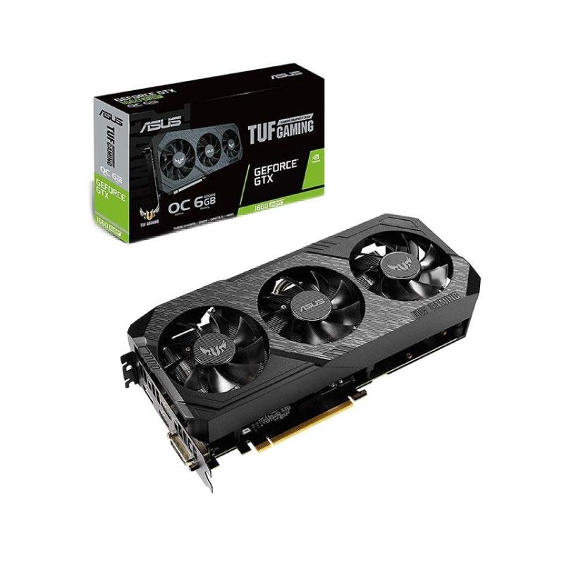 VGA Asus TUF Gaming X3 GeForce GTX 1660 Super OC 6GB TUF3 GTX1660S O6G GAMING