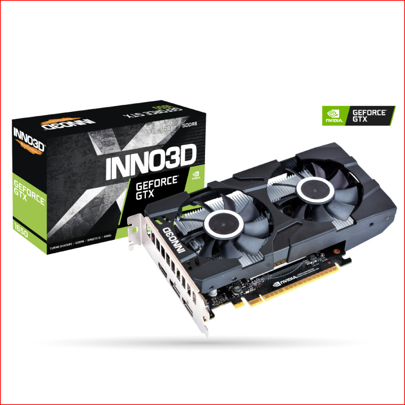 VGA INNO3D Geforce GTX 1650 TWIN X2 OC 4GB GDDR6 N16502 04D6X 1177VA25