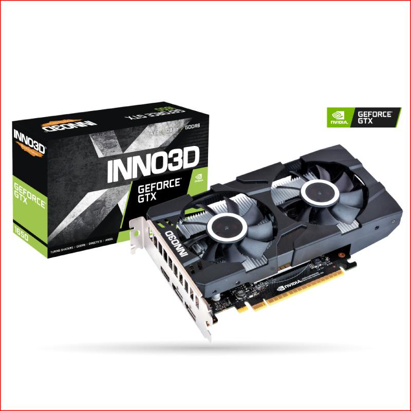 VGA INNO3D Geforce GTX 1650 X2 OC 4GB GDDR5 N16502 04D5X 1510VA25