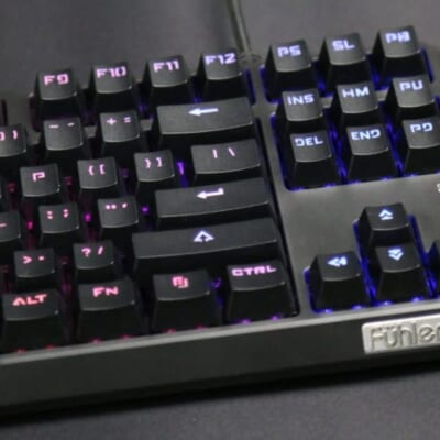 Ban Phim Co Fuhlen M87S Gaming RGB Blue Switch 2