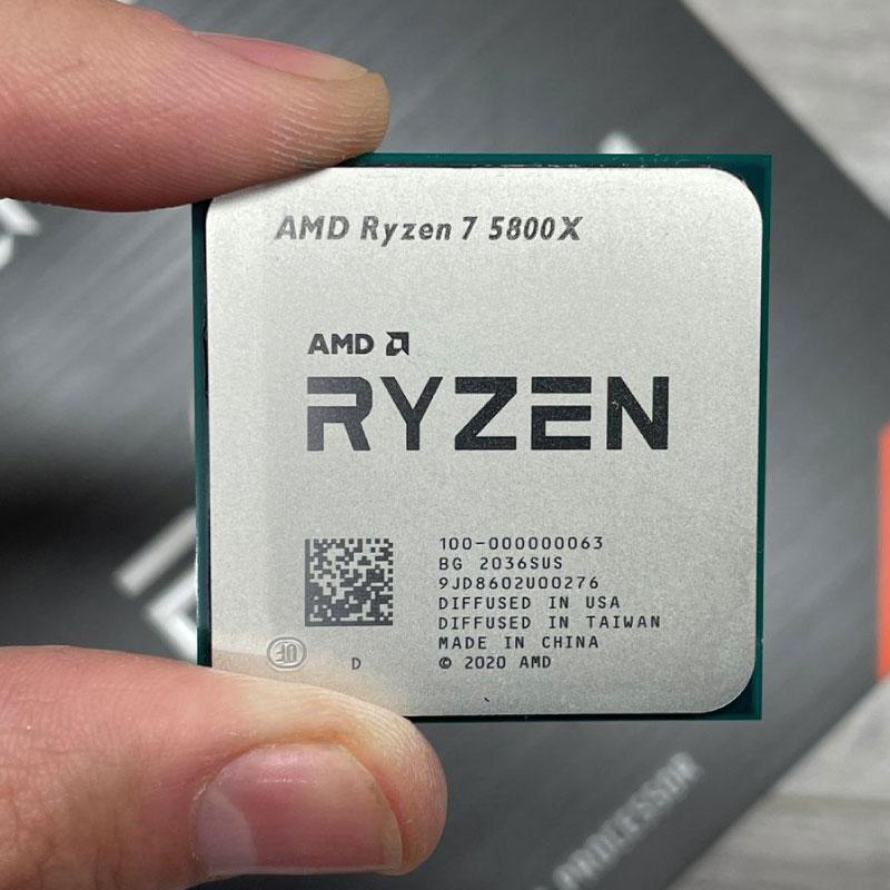 CPU AMD Ryzen 7 5800X 3