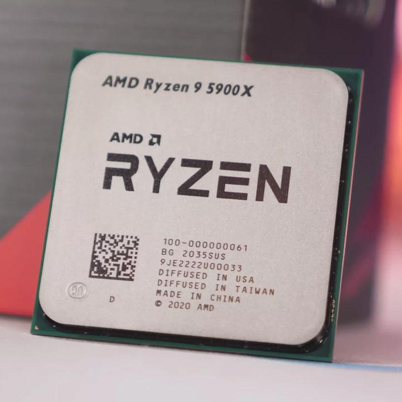 CPU AMD Ryzen 9 5900X 2