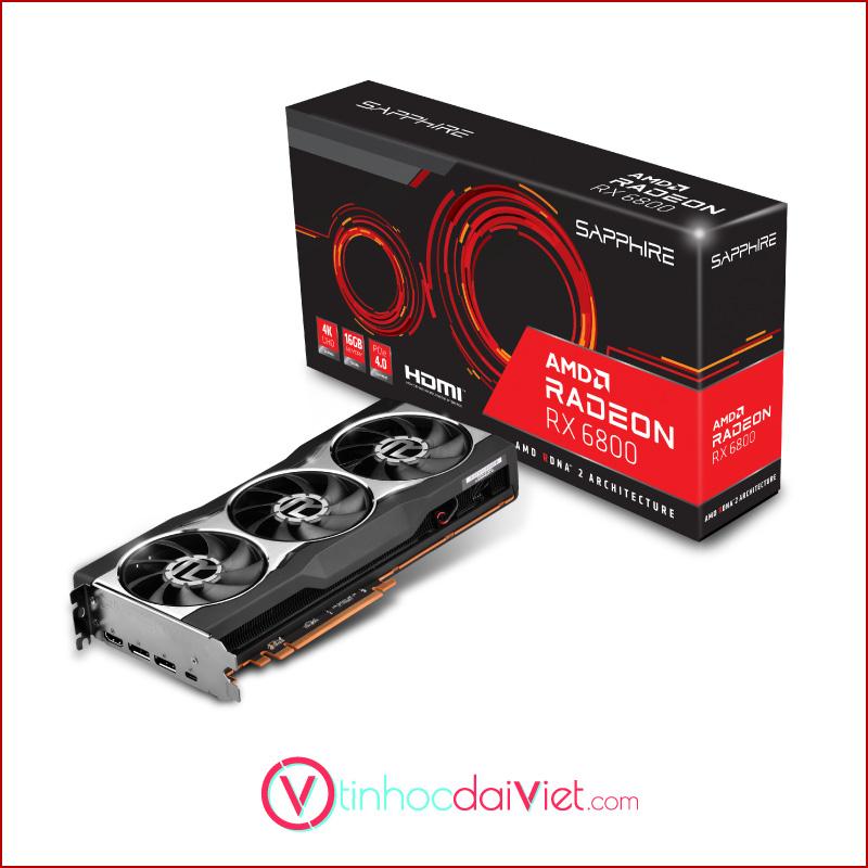 VGA Sapphire AMD Radeon RX 6800 Gaming 16GB GDDR6