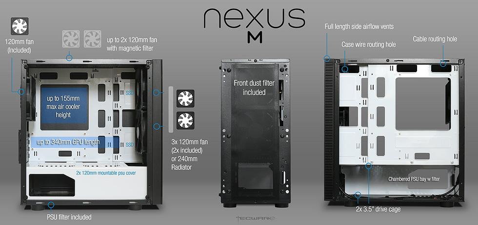 Case May Tinh Nexus M Kinh Cuong Luc WhiteBlack WhiteBlack Red