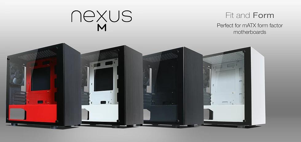 Case May Tinh Nexus M White black red
