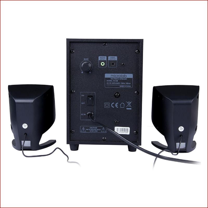 Loa Bluetooth Microlab M108 2.1 11W RMSBluetooth 3.5Audio 4jpg