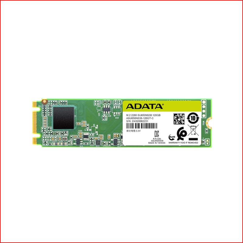 O CUNG SSD ADATA SU650 120GB M2 SATA
