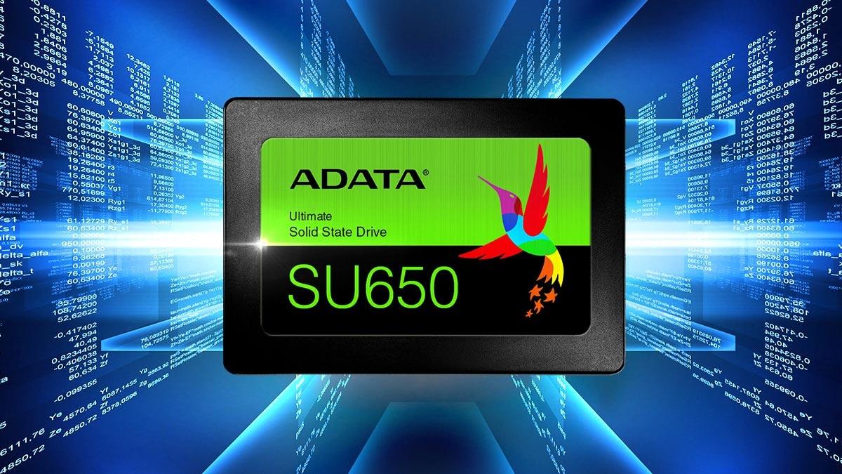 SSD Adata Su6500 duoc trang bi ma sua loi hien dai