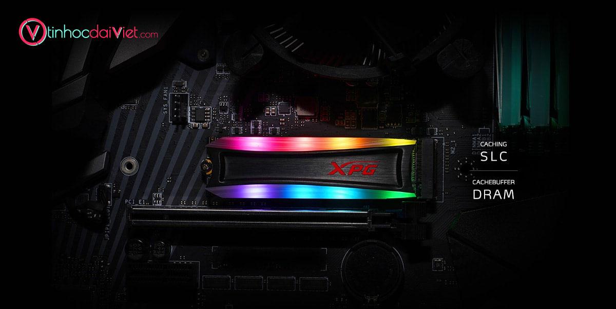 SSD Adata XGP Spectrix S40G 256GB 512GB 1TB 2TB Theo Duoi Su Hieu Qua
